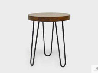 Industrial wooden stool to dining room living room LOFT