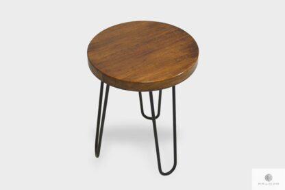 Loft stool with oak seat to dining room LOFT