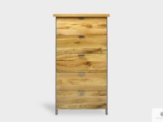 Oak high dresser with drawers to living room HUGON I