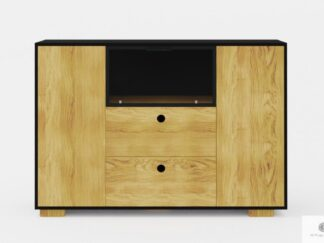 Modern design dresser of wood with drawers to living room CARLA