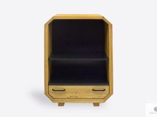 Designer modern oak chest of drawers to living room OMNIS II